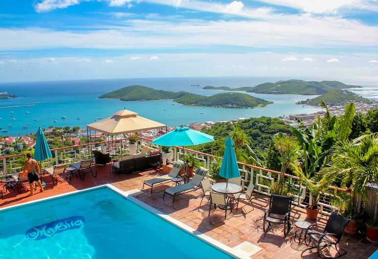 Mafolie Hotel, St. Thomas, View from Hotel