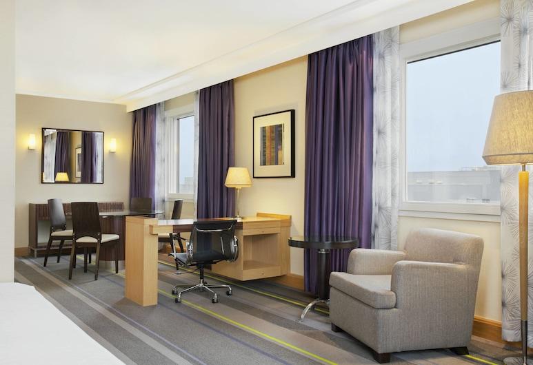 Sheraton Brussels Airport Hotel, Zaventem, Apartmá s ložnicí a obývacím koutem, dvojlůžko (200 cm), nekuřácký, Pokoj