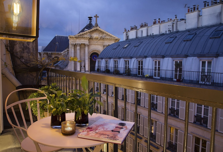 Le Pradey, Parijs, Suite, Balkon, Balkon