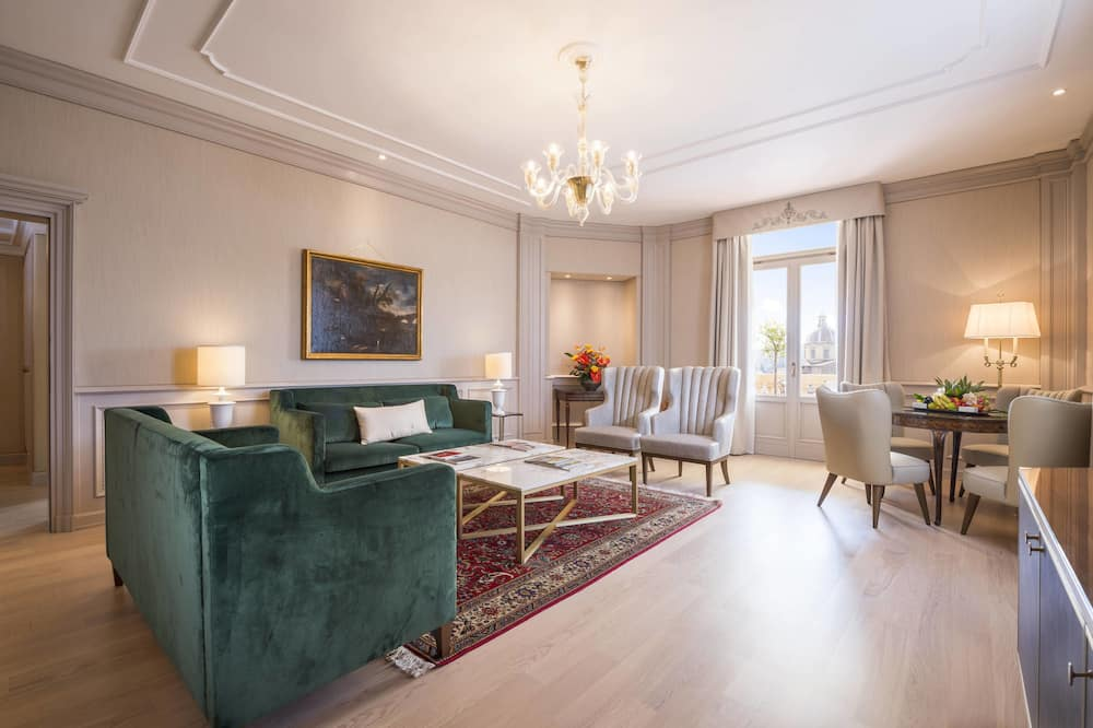 Presidential Suite, 1 King Bed, Terrace, River View (Non Smoking) - Living Area