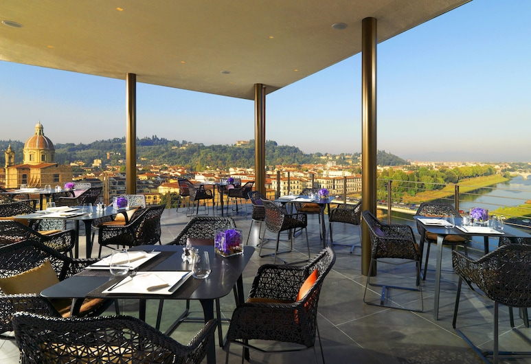 The Westin Excelsior, Florence, Florenz, Terrasse/Patio
