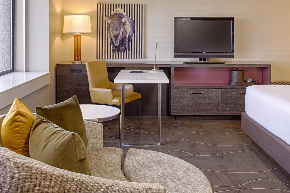 Apartament typu Executive Suite - Powierzchnia mieszkalna