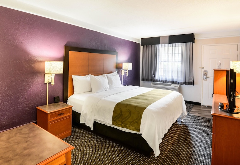 Quality Inn & Suites, North Charleston, Room, 1 King Bed, Accessible, Non Smoking, Guest Room
