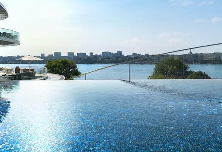 The Fontenay, Hamburg, Rooftop Pool