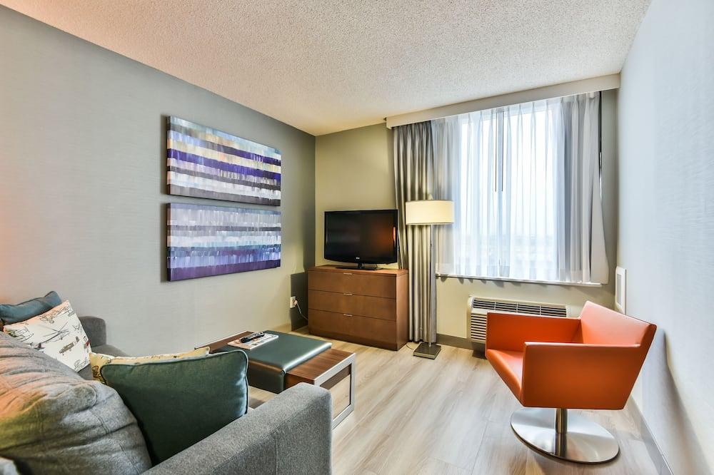 Suite, 2 camas Queen size, para no fumadores - Sala de estar