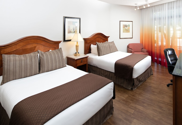 Red Lion Hotel Boise Downtowner, Boise, Standard Room, 2 Double Beds, Guest Room
