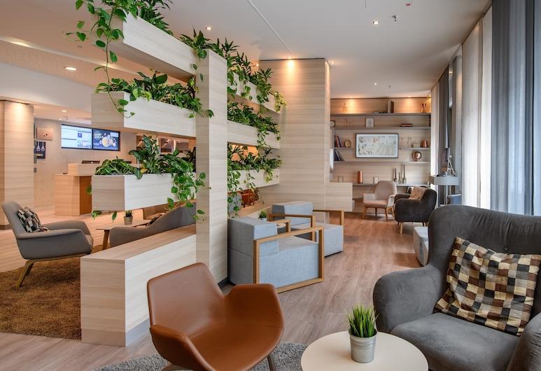 Novotel Frankfurt City, Frankfurt, Siddeområde i lobby