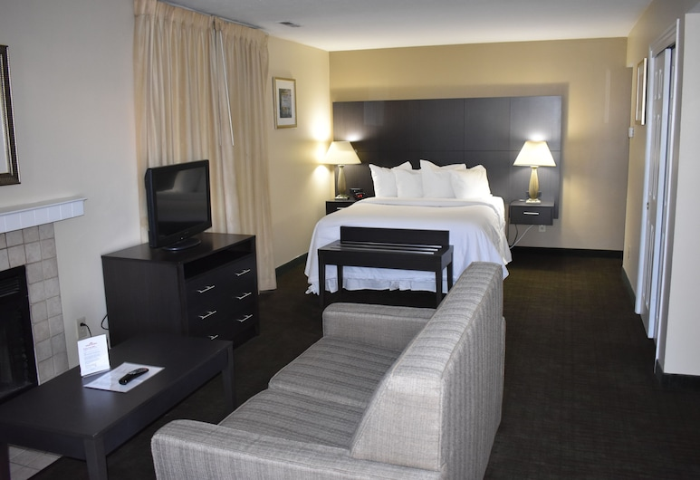 Hawthorn Suites by Wyndham Miamisburg/Dayton Mall South, Miamisburg, Studio Suite, 1 Queen Bed, Non Smoking, Guest Room