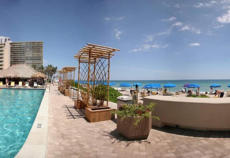 Ocean Manor Beach Hotel, Fort Lauderdale, Piscine en plein air