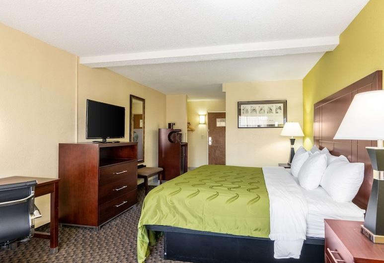 Quality Inn Central, Richmond, Habitación, 1 cama King size, con acceso para silla de ruedas, para no fumadores, Habitación