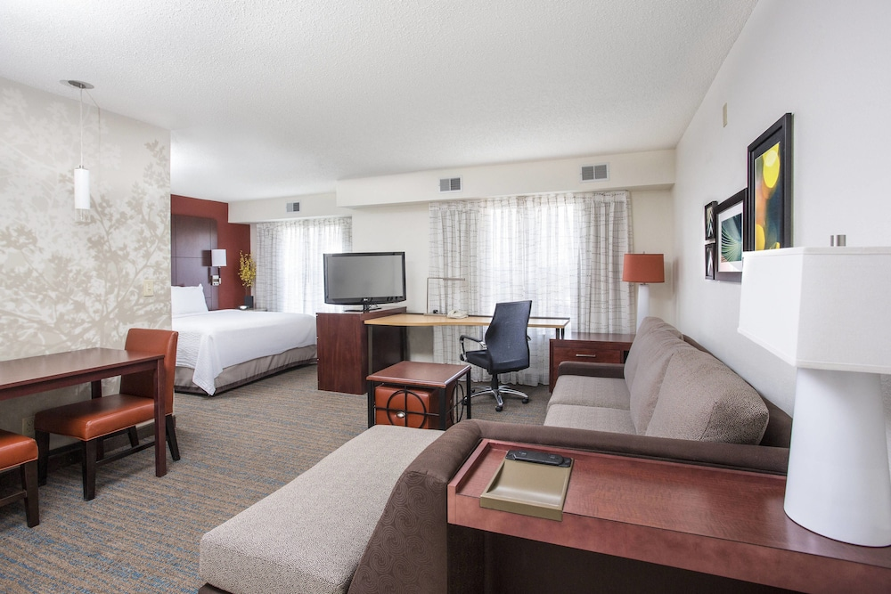 Charmant Residence Inn By Marriott Topeka, Topeka, Studio, 1 King Bed With Sofa Bed
