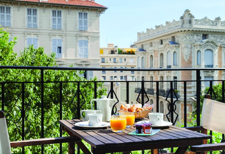 La Malmaison, Ascend Hotel Collection, Nizza, Executive-Zimmer, 1 Queen-Bett, Nichtraucher, Balkon