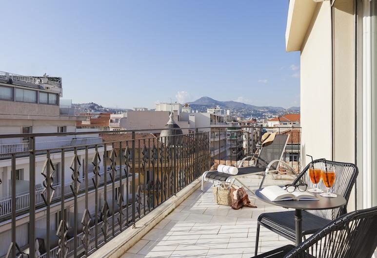La Malmaison, Ascend Hotel Collection, Nice, Deluxe-rum - icke-rökare, Terrass