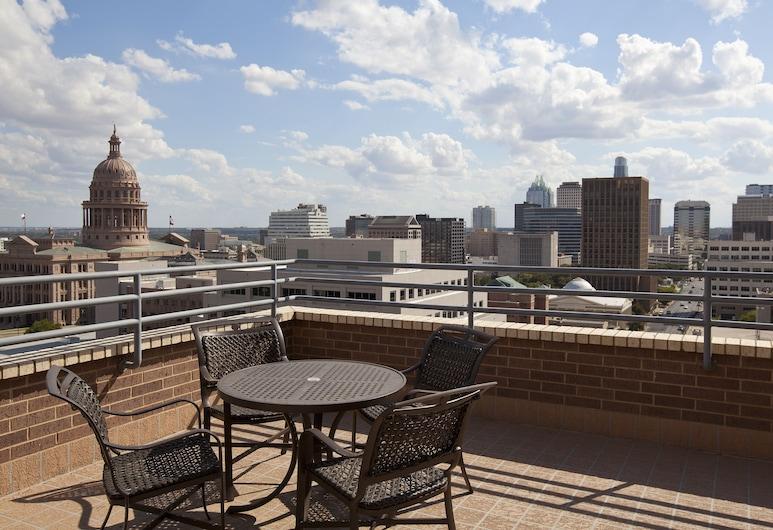 DoubleTree Suites by Hilton Austin, Austin, Suite Exécutive, 1 très grand lit, patio, Terrasse/Patio