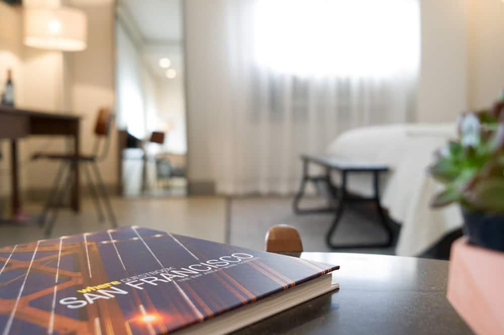 Студія-люкс, 1 ліжко «кінг-сайз» - Житлова площа
