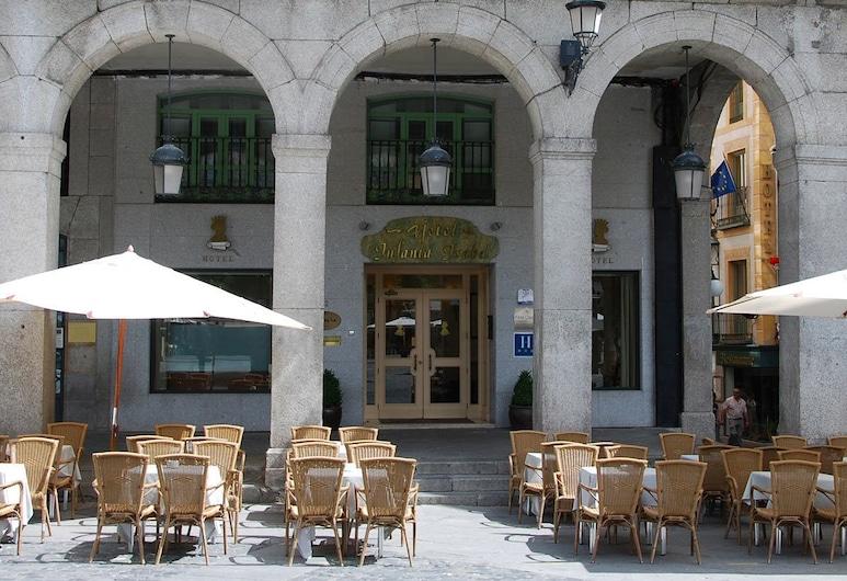 Hotel Infanta Isabel, Segovia, Terraza o patio
