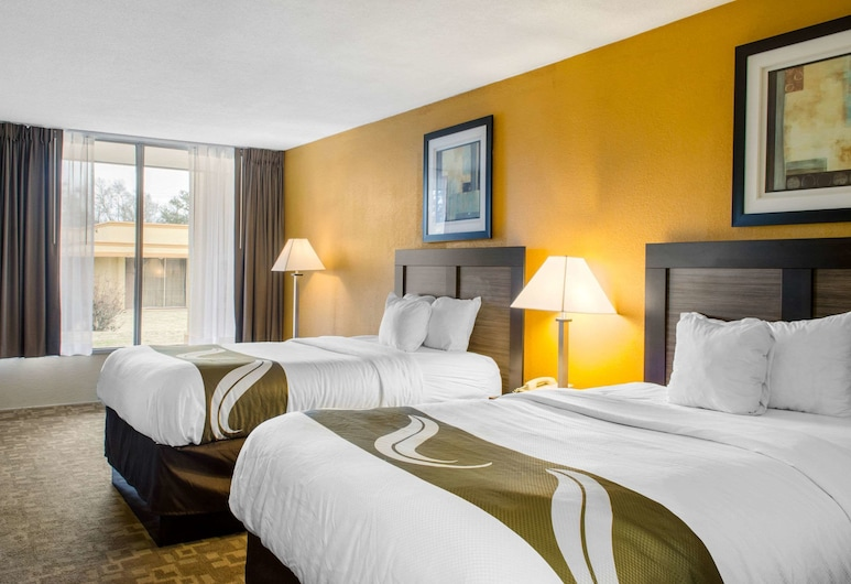 Quality Inn University Area, Troy, Soba, 2 bračna kreveta, za nepušače, Soba za goste