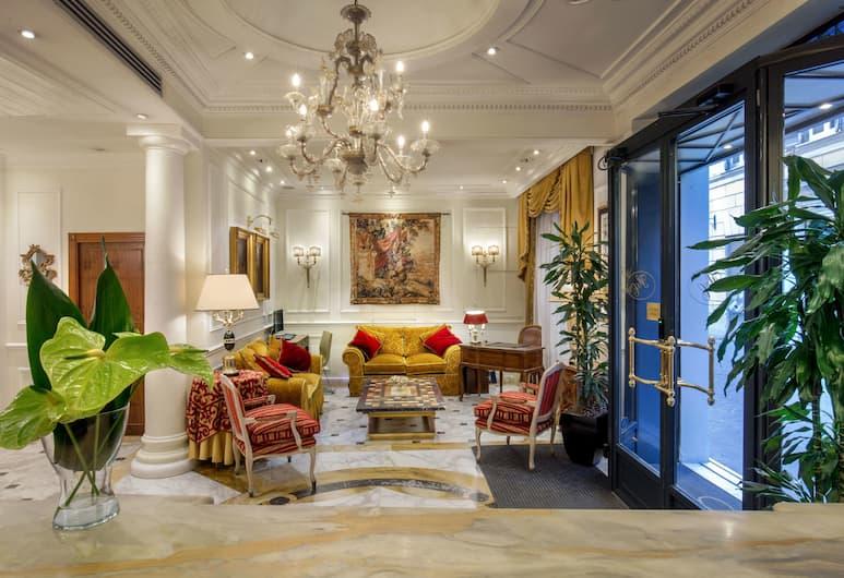 Hotel Condotti, Rome, Reception Hall