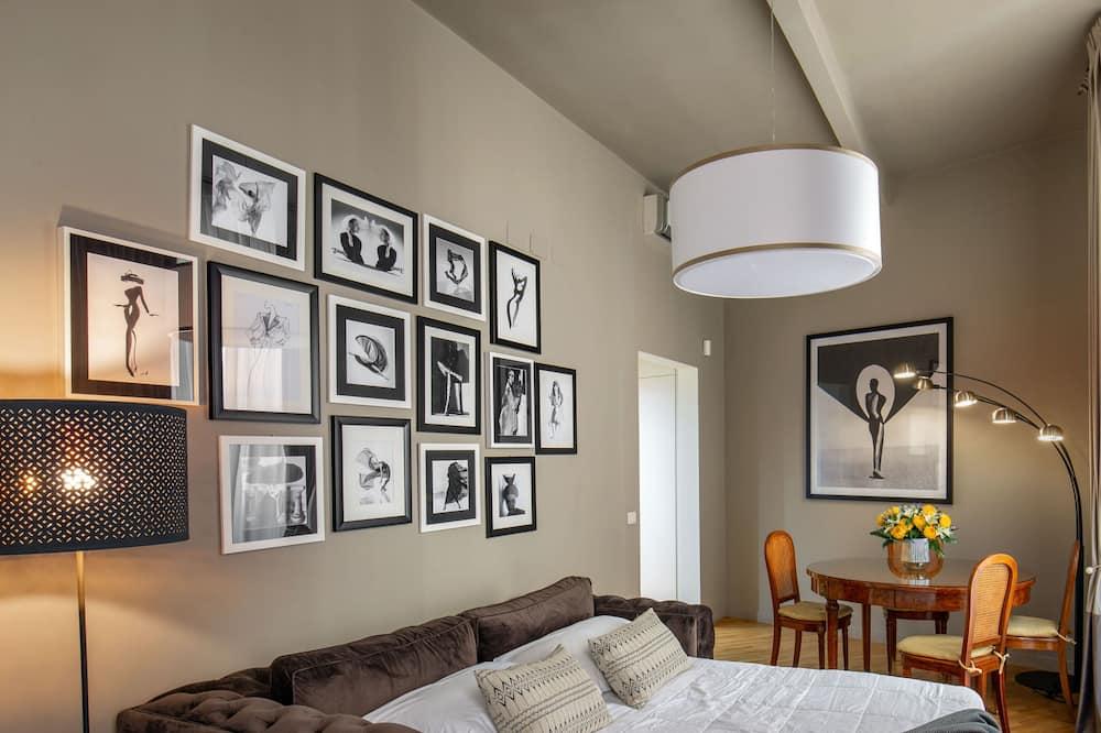 Apartment, Kitchen (Via del Babuino 160) (no breakfast) - Living Area