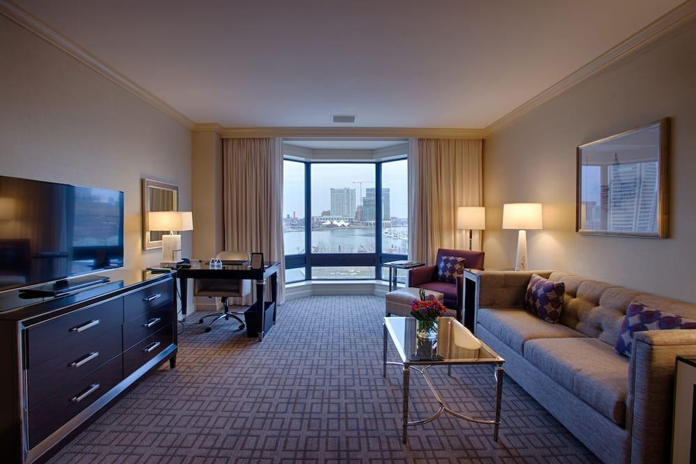 스위트, 침실 1개 (Ambassador) - 거실 공간