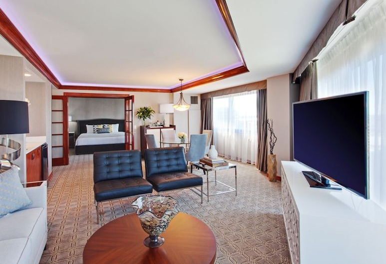 Sonesta Irvine - Orange County Airport, Irvine, Phòng Suite, 1 giường cỡ king, Tầng Executive (One Bedroom), Khu phòng khách