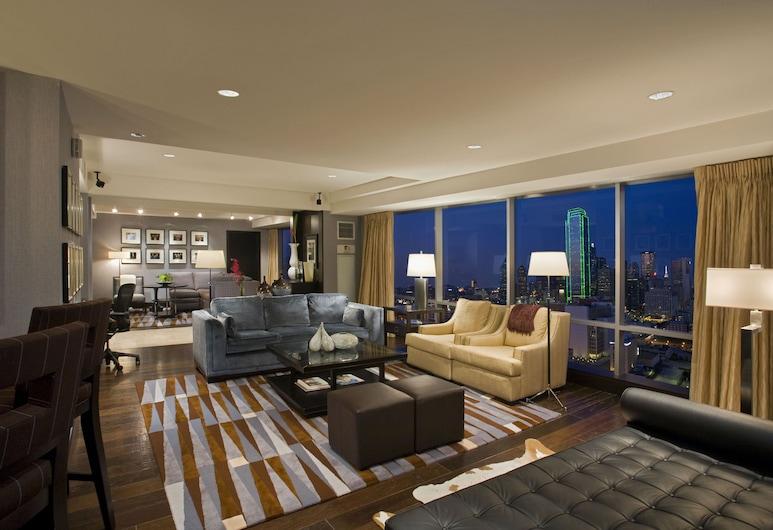 Hyatt Regency Dallas, Dallas, Suite Présidentielle, Coin séjour