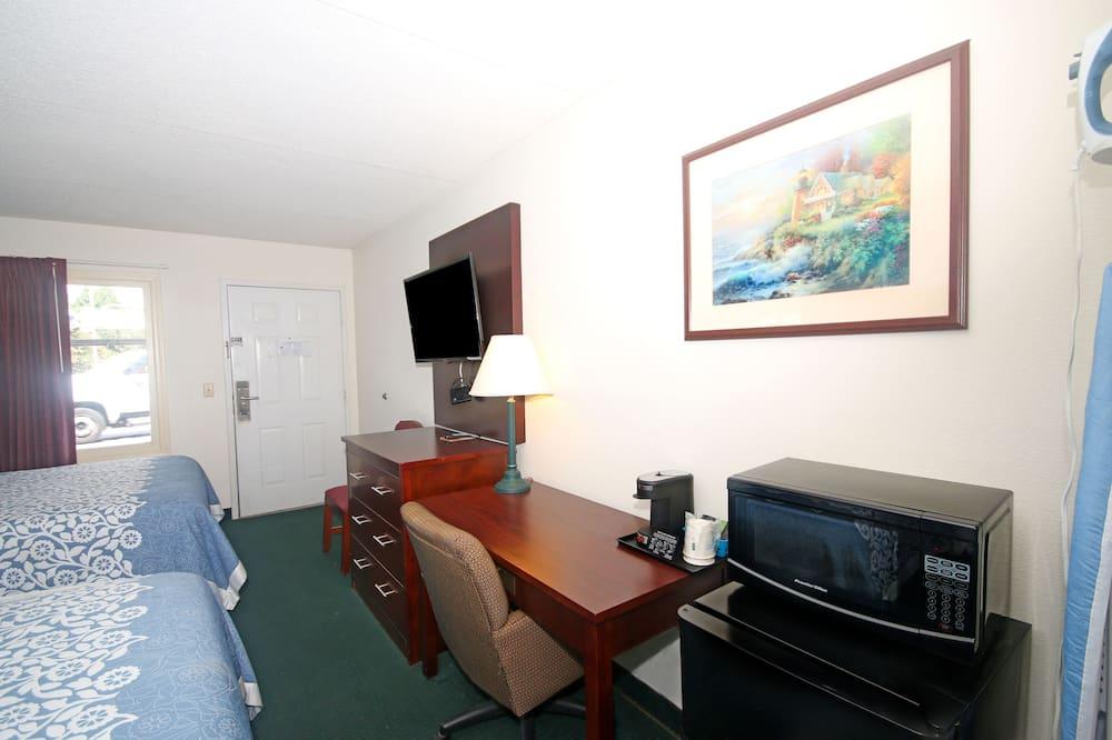 Divvietīgs numurs, 2 divguļamās karalienes gultas, nesmēķētājiem - Dzīvojamā zona