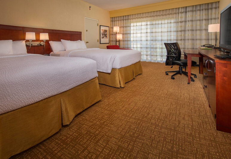 北銀泉/白橡樹萬怡酒店, 銀泉, 客房, 1 張標準雙人床, 非吸煙房, 客房