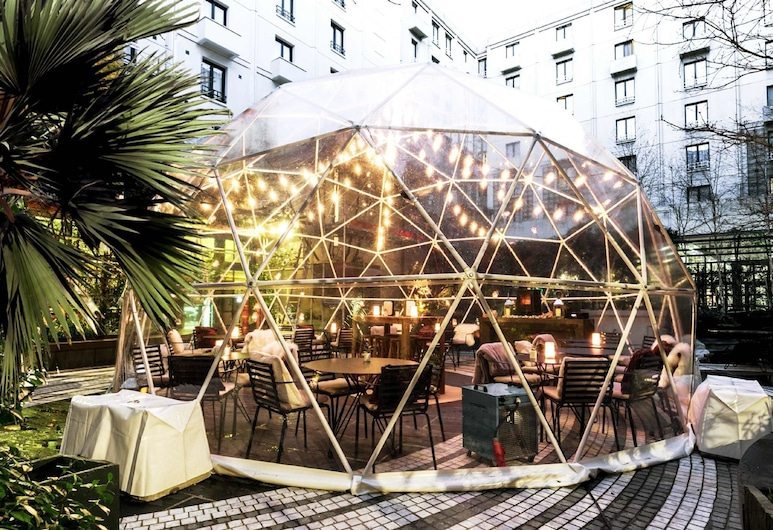 Novotel Paris Les Halles, Paris, Outdoor Dining