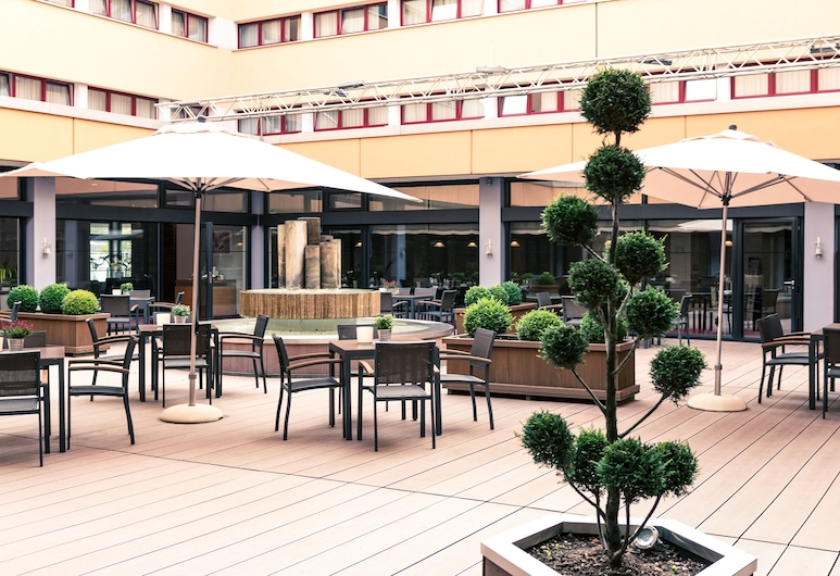 Michel Hotel Braunschweig (ehemals Mercure Hotel Atrium Braunschweig), Braunschweig, Terraza o patio