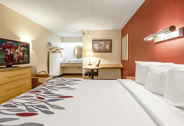 Red Roof Inn Charleston - Kanawha City, WV, Charleston, Chambre Supérieure, 1 très grand lit (Smoke Free), Chambre
