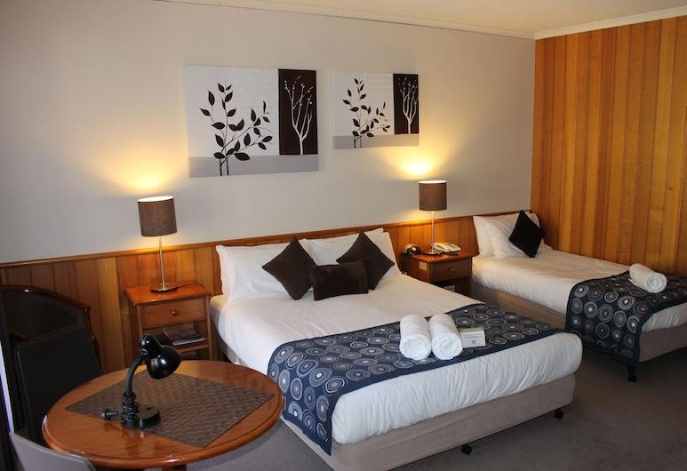 بيكري هيل موتل, باكيري هيل, غرفة ديلوكس ثلاثية - غرفة نوم واحدة, غرفة نزلاء