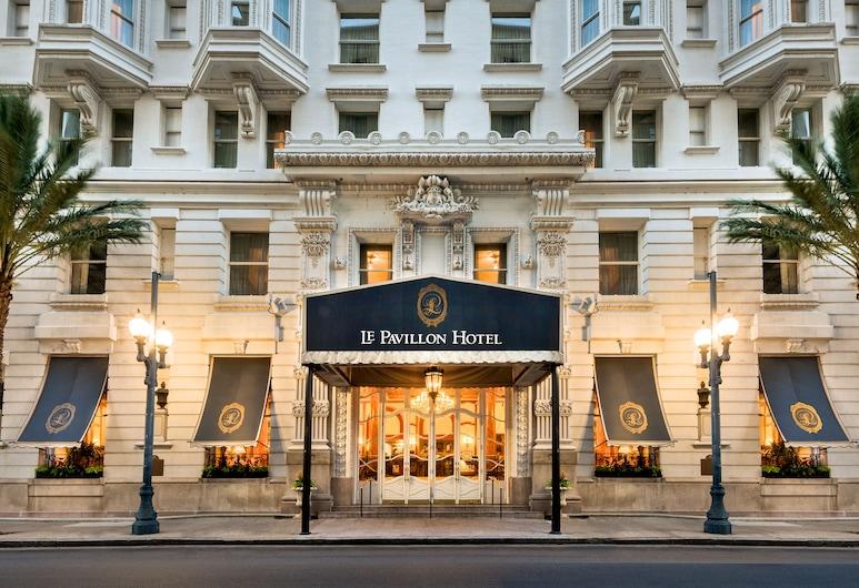 Le Pavillon Hotel, Nueva Orleans, Parte delantera del hotel