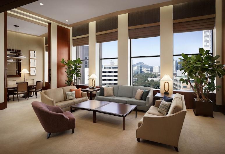 首爾威斯汀朝鮮飯店, 首爾, 總統套房, 2 間臥室, 非吸煙房, 行政樓層, 客房