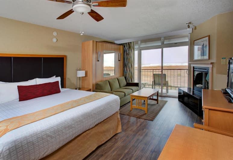 Best Western Plus Ocean View Resort, Seaside, Standard Room, Multiple Beds, Non Smoking, Partial Ocean View (Pet Friendly), Guest Room