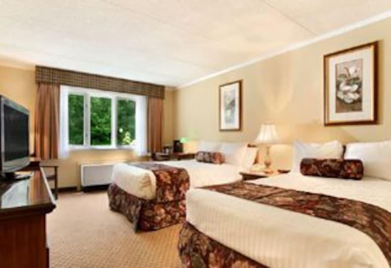 Best Western of Lake George, Lake George, Deluxe szoba kétszemélyes ággyal, 2 kétszemélyes ágy, Vendégszoba kilátása