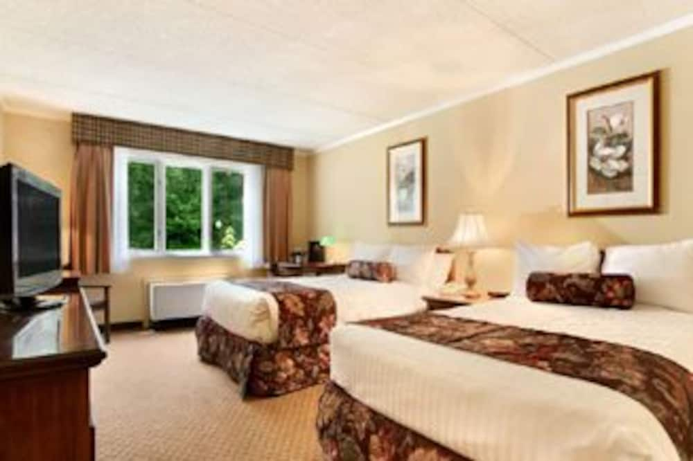 Deluxe szoba kétszemélyes ággyal, 2 kétszemélyes ágy - Vendégszoba kilátása