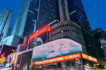 在纽约的曼哈顿时代广场皇冠假日酒店照片