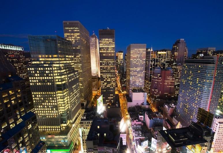Crowne Plaza Times Square Manhattan, New York, Rom – traditional, 1 kingsize-seng, ikke-røyk, Utsikt fra gjesterommet