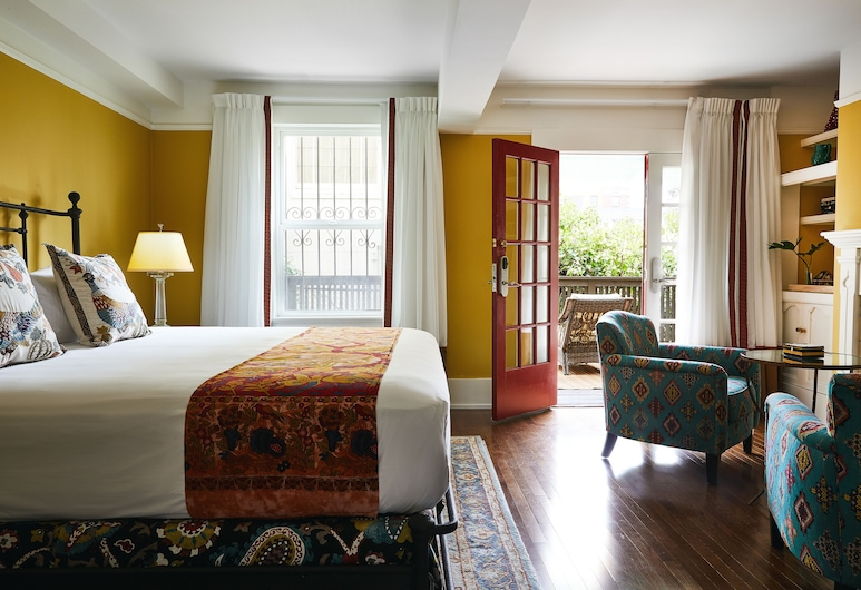 Petite Auberge, San Francisco, Deluxe Studio Suite, Living Area