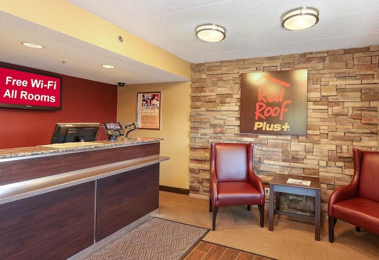 Red Roof Inn PLUS+ Baltimore - Washington DC/BWI South, Hanoveris, Vestibiulis