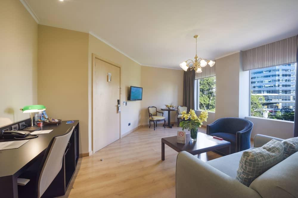 Junior Double Room - Living Area