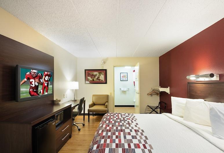 Red Roof Inn Cincinnati East - Beechmont, Cincinnati, Pokoj typu Deluxe, dvojlůžko (200 cm), bezbariérový přístup, nekuřácký, Pokoj