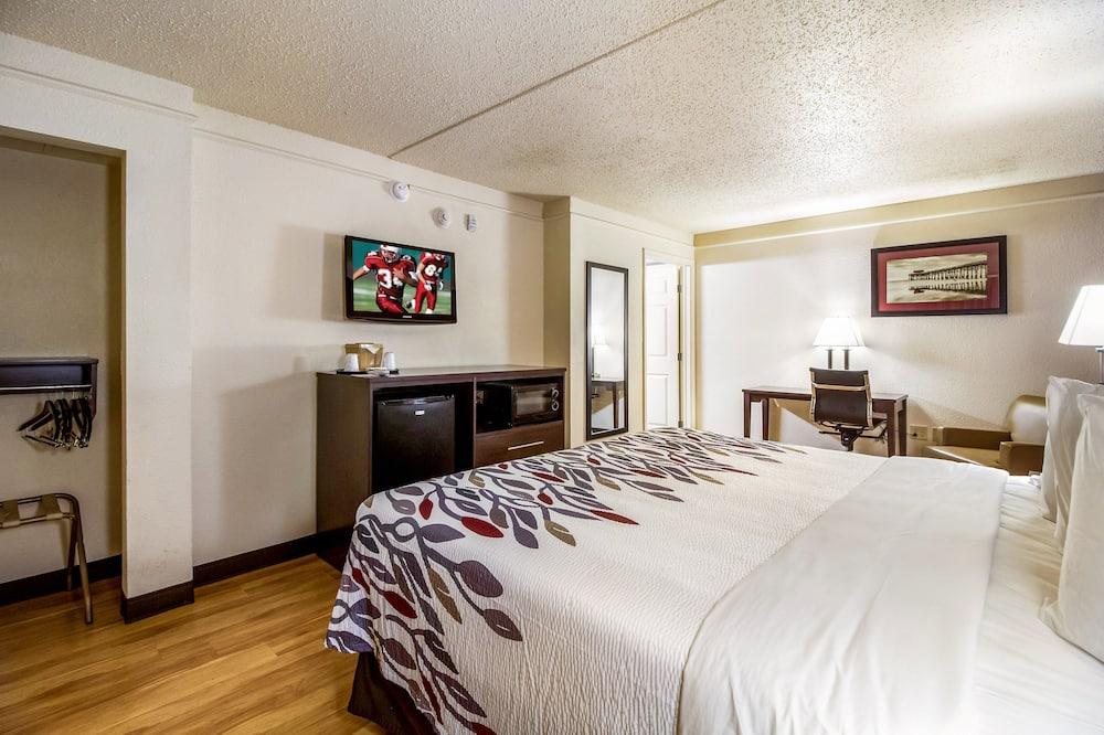 Номер «Делюкс», 1 двуспальная кровать «Кинг-сайз», для некурящих - Номер