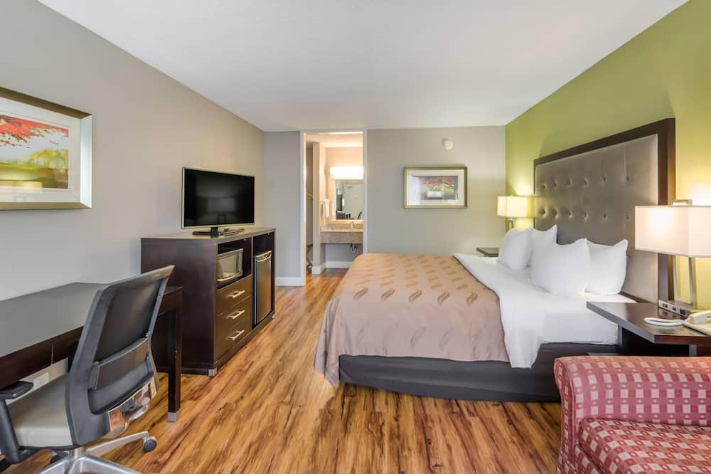 客房, 1 張特大雙人床和 1 張沙發床, 無障礙, 非吸煙房 - 客房