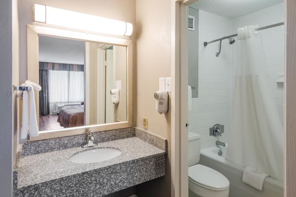 雙人房, 2 張標準雙人床, 吸煙房 - 浴室