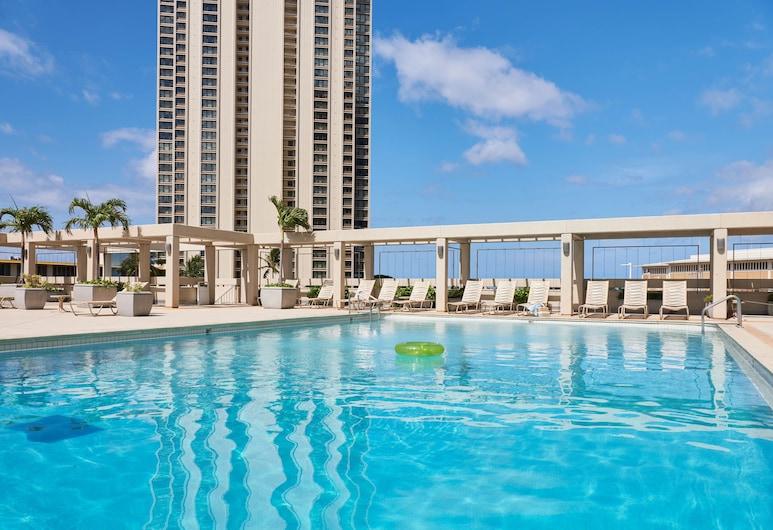 Ala Moana Hotel, Honolulu, Bazen