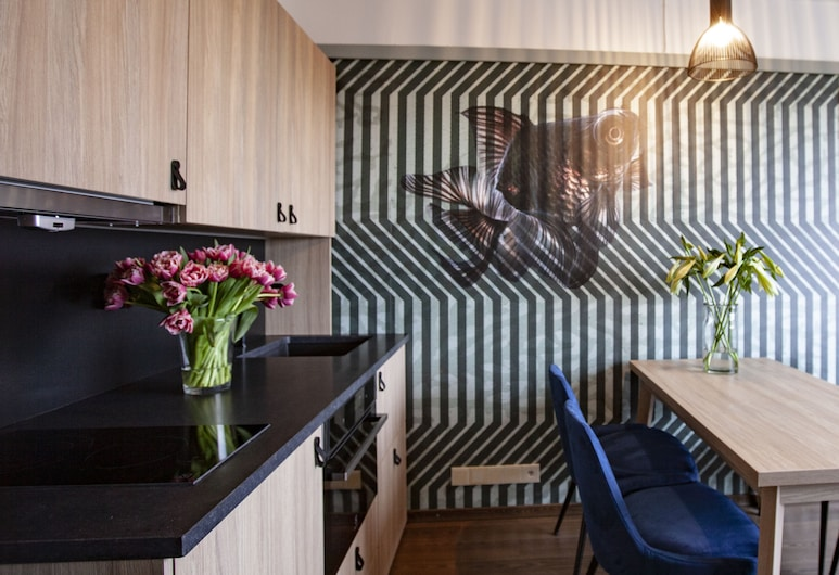 Frogner House Apartments – Lagårdsveien 61, Stavanger, Single Studio, Zona de estar