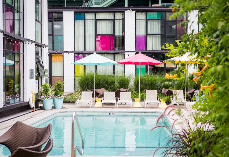 The Verb Hotel, Boston, Outdoor Pool