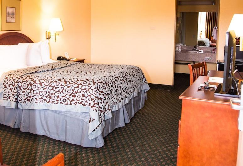 Days Inn by Wyndham Alexandria South, Alexandria, Indiana, Standardrum - 1 queensize-säng - icke-rökare, Gästrum